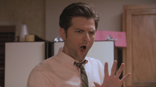 When Adam Scott looks at his Tumblr tag.