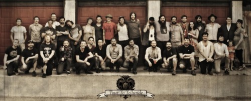 marrymemarcus:  (via Mumford & Sons band crew end of tour photo by me… on Twitpic)