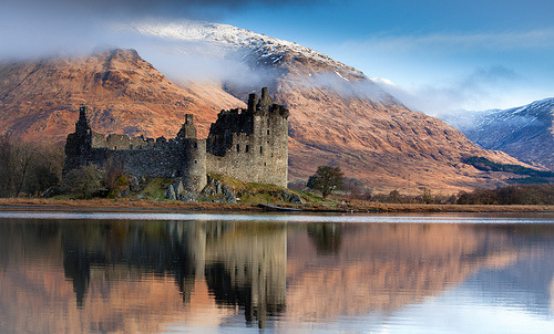 Kilchurn Castle February (by Wytchwood)