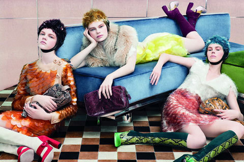 Steven Meisel / Courtesy of Prada