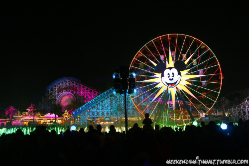 weekendswithwalt:  Paradise Pier after World of Color