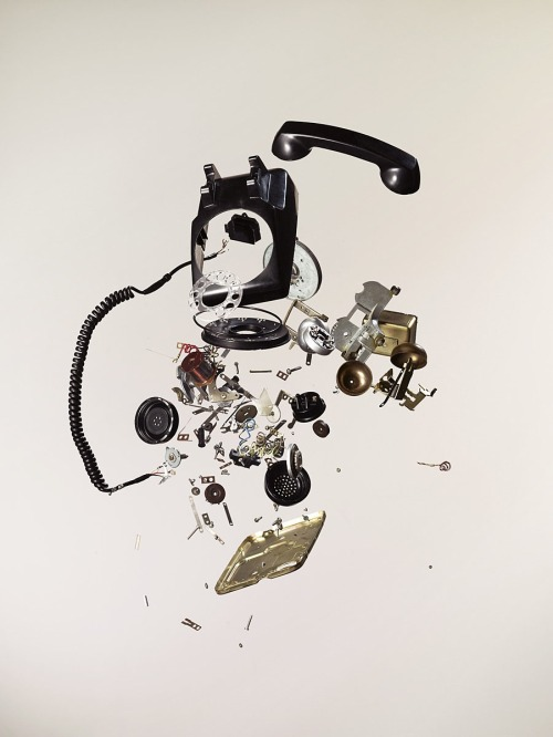 oliphillips:  Telephone Disassembly by Todd McLellan