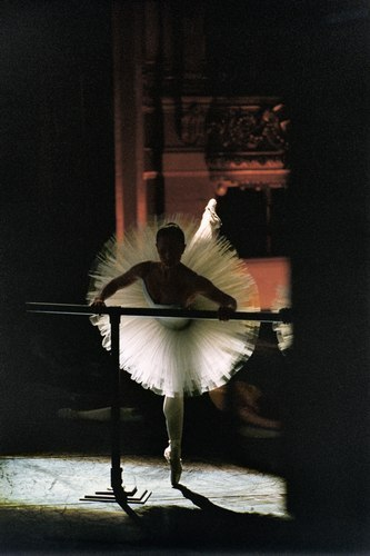 artemisdreaming:  A dancer in the Paris Opera Ballet Photo © & courtesy of Gérard Uféras