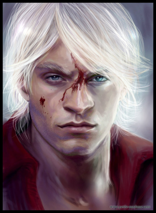 videogamenostalgia:  Dante: Devil May Cry - by Petite Madame | deviantART (via: geeksngamers)