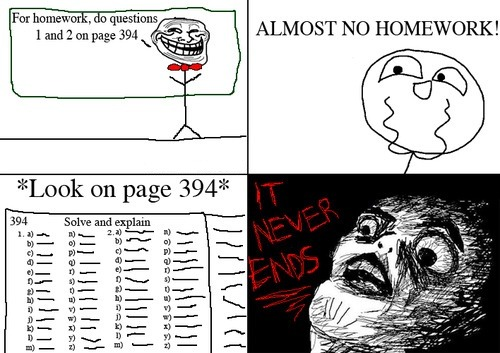 "And All I could think of was Snape saying ""Turn to page 394""."