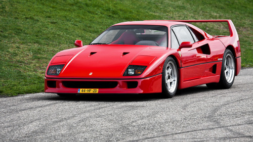 Ferrari F40. by Diederik de Regt on Flickr.Ferrari F40. Ferrari Club Nederland