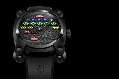 iamalfff:    Space Invaders x Romain Jerome Watch