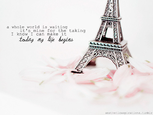 "aestheticaspirations: Song: ""Today My Life Begins"" - Bruno Mars Image from: lostin-memories Request: ehmiibee    Click to follow this blog, you will be so glad you did!"