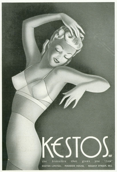hoodoothatvoodoo:  Kestos Underwear advertisement 1930s