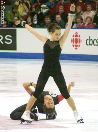 beautiful-shapes:  Tessa & Scott 2008 ex