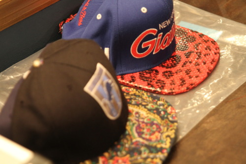billidollarbaby:  Don C Custom snake-skin snapbacks