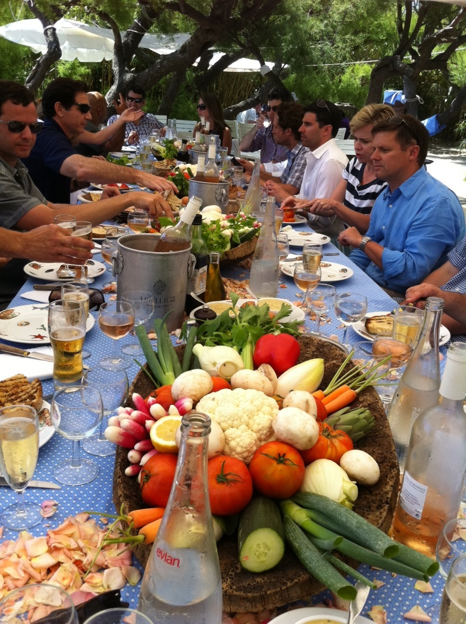 johnbattelle:  Amazing lunch tx @dmjoanne