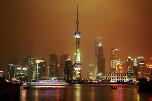 Shanghai, China - Pudong skyline (by cnmark)