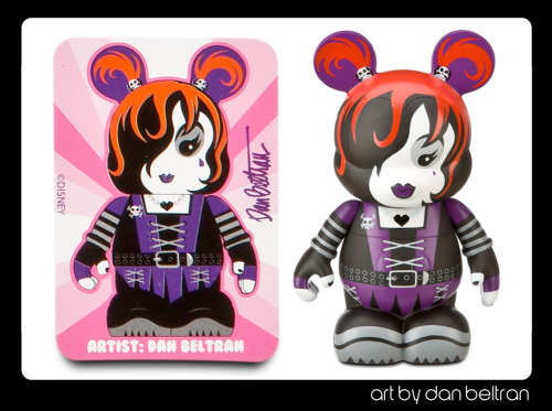 "A Disney Vinylmation 9"" that's available now."