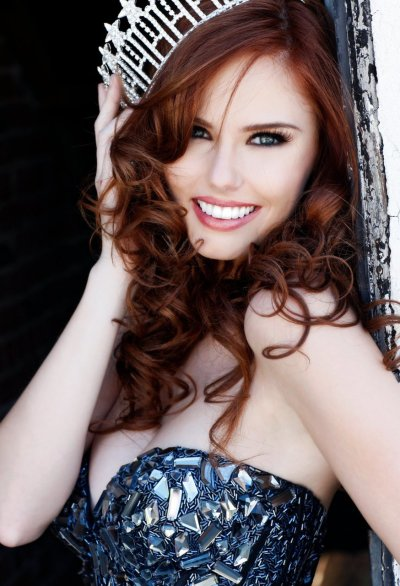 Year of the redhead Another fantastic photograph of the new Miss USA, Alyssa Campanella.