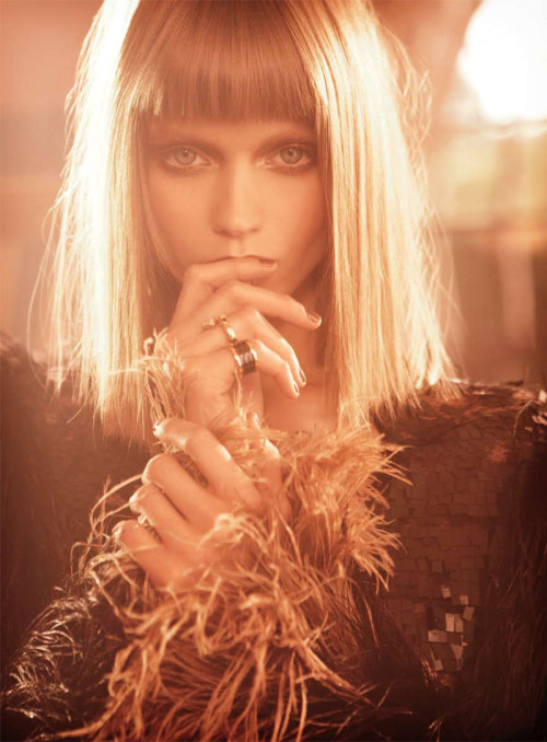 "modelinia:  Girl Crush of the Day: Abbey Lee Kershaw  Vogue Australia, November 2010  ""Last Days of Disco"""