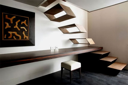 (via Unusual and Creative Staircase Designs) cool stairs