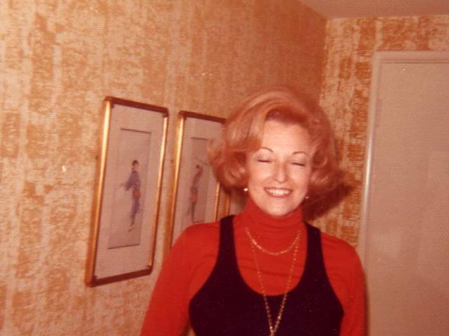 This is my favorite picture of my Nana.  I stumbled upon it while looking through her photographs after she had passed away this year, and I was struck by how wonderfully candid this one was. As a woman that was known to never leave the house without her eyebrows on perfectly I could almost hear hear say how she would want to throw out the picture because her eyes are closed but I love everything about it.  I was lucky enough to be her friend and granddaughter and I miss her everyday. —submitted by Lauren Burge