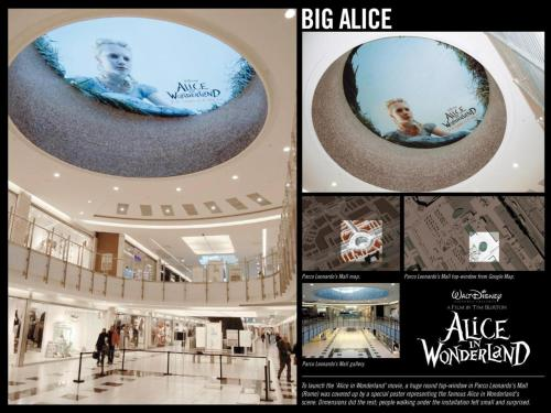 Walt Disney Pictures, Alice in Wonderland Ceiling