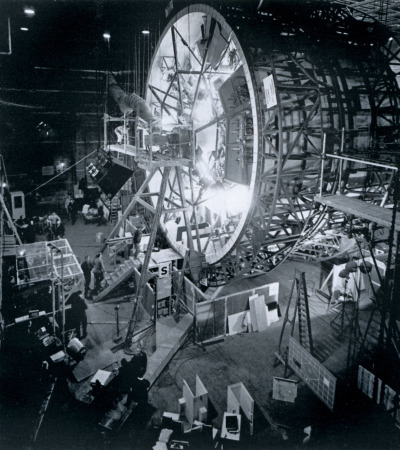 heyoscarwilde:  The centrifuge set from Stanley Kubrick's 2001: A Space Odyssey circa 1968 :: via flickr.com