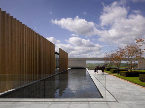 Windmill Hill, a new complex by Steven Marshall Architects built for the Rothschild Foundation. #horsey