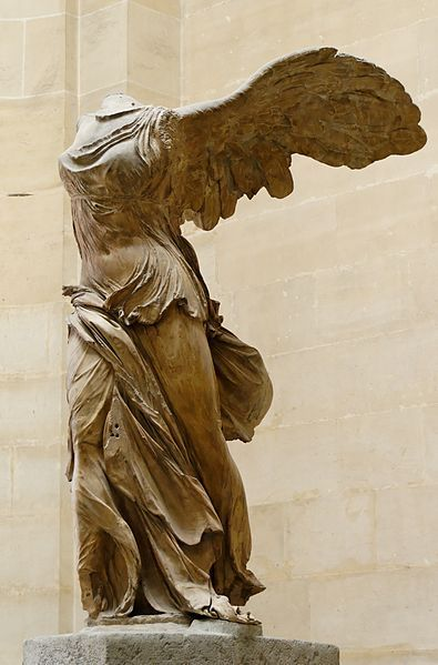 Nike of Samothrace (ca. 200 BC) Found in Samothrace in 1863