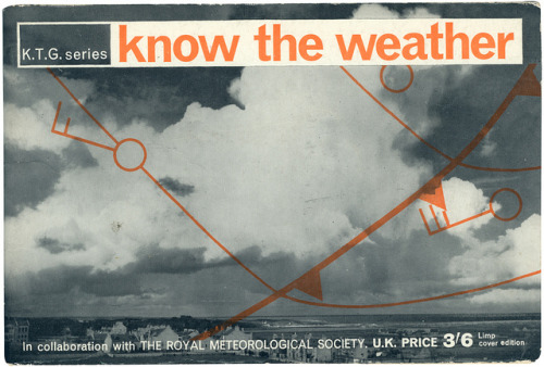know the weather by maraid on Flickr.Nice cover. I'll even forgive the non-straight terminator on the letter t. The other covers in the set are well worth a look too.