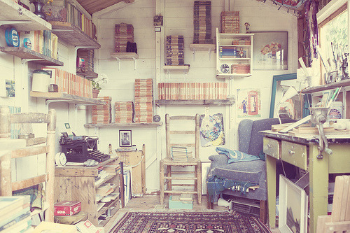 prettybooks:  The Garden Shed (by Sue Kwiatkowska)