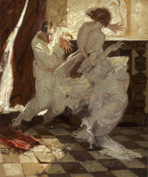 Dean Cornwell - Garden of Peril