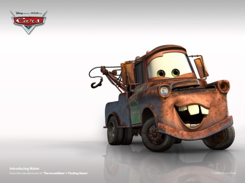 It turns out the rusty old tow truck that inspired the beloved Disney Pixar character, Mater, is on display in the tiny town of Galena, Kan., population 3,200. The more you know.