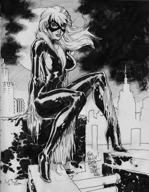 fumettimarvel:  heckyeahjimlee:  Black Cat  by Jim Lee