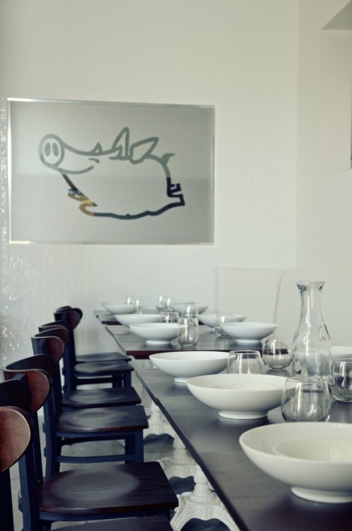 LBDS current project: Flying Pig Cafe dining room