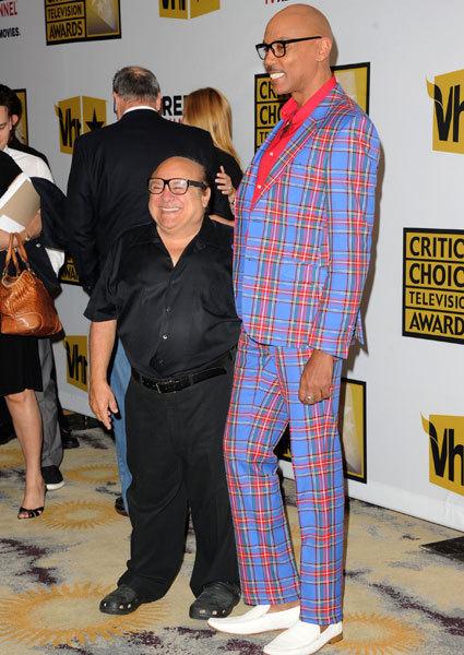 Danny Devito and RuPaul.