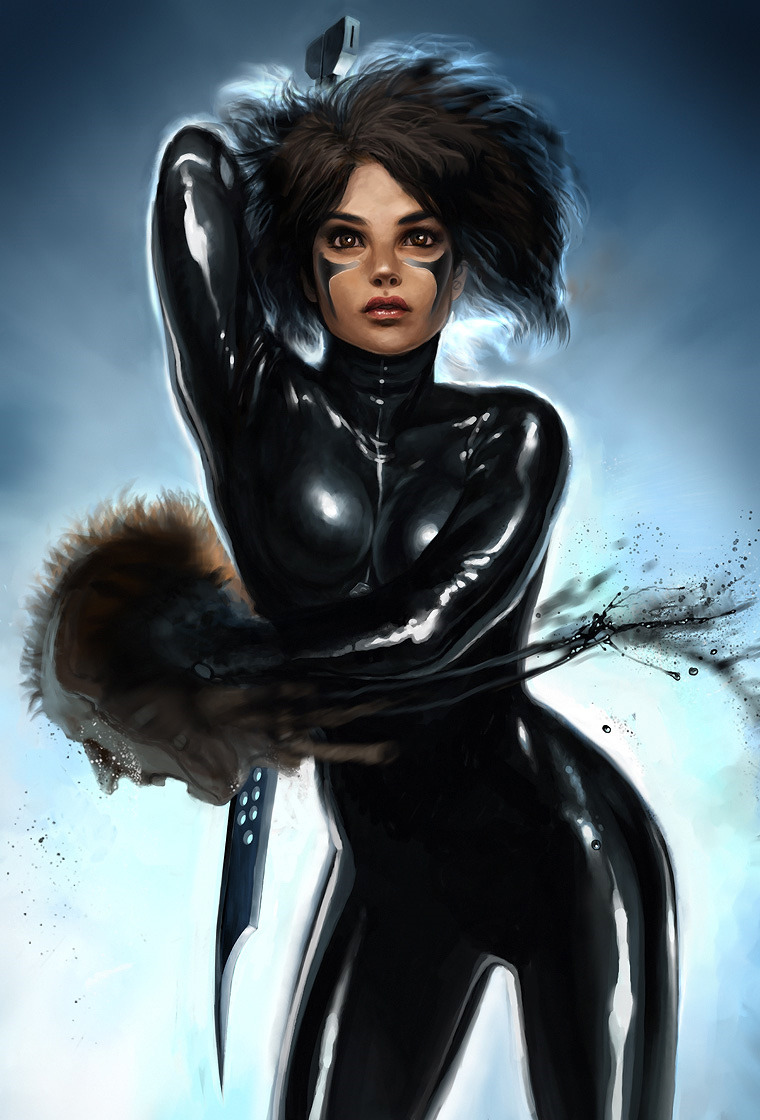 Battle Angel Alita by Smirtouille