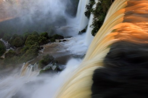 Iguassu Falls, on the border between Argentina and Brazil Photo and caption by Robert Woodward