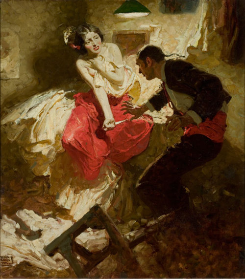Dean Cornwell - The Red Shawl