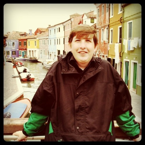 Me at Burano, Venetian Lagoon; September 2010 (Taken with instagram)