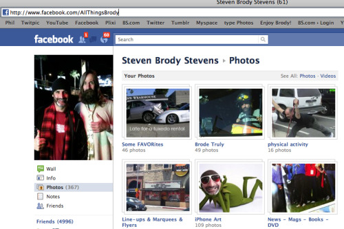 Click on pix above, check out Brode's Facebook!