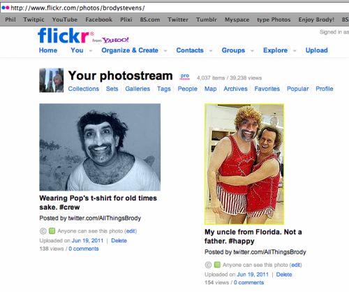 Brode's Flickr page! Click on my Uncle's picture above to enjoy more snap shots.