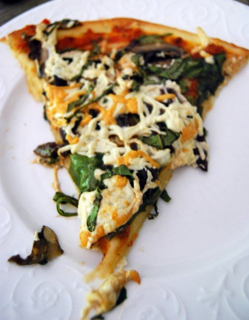 I would totally go cannibal on this pizza. reblogged from vegansaurus:  Human Blood Transfusion Pizza from Tim over at Vegetal Voracity. Human blood whaa? Tim! That is a terrible name for pizza! That's like Pizza 101: don't name it that. JK, brah. You can call it whatever you want. A pizza by any other name, etc.