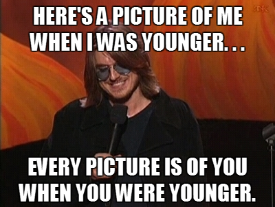 sofapizza:  the infinite wisdom of mitch hedberg  Tony the Tiger usually thinks stuff is great.