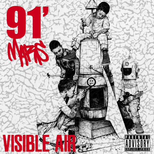 "byhassan:  91 Mars ""Visible Air"" Artwork."