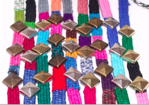 Studded Friendship Bracelets!