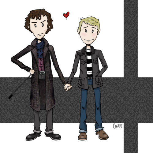 i like when sherlock is grumpy about pda.