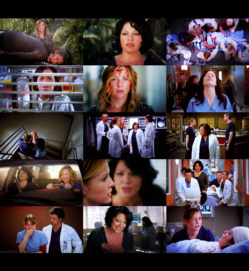 "TV Shows Challenge | 7 best episodes: ""Song Beneath the Song"" (Grey's Anatomy - Season 7, Episode 18)  ""There's no escape,So keep me safe,This feels so unreal."""