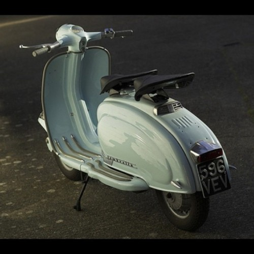 greglakin:  #Lambretta #Li150 #Scooter #classic #mod #1961 (Taken with instagram)