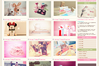 Cute Secrets Theme 33. Click here to view and download the theme. It is free for everyone. So, enjoy! :D