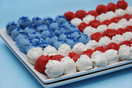 Cute! Nice idea for a 4th of July party.