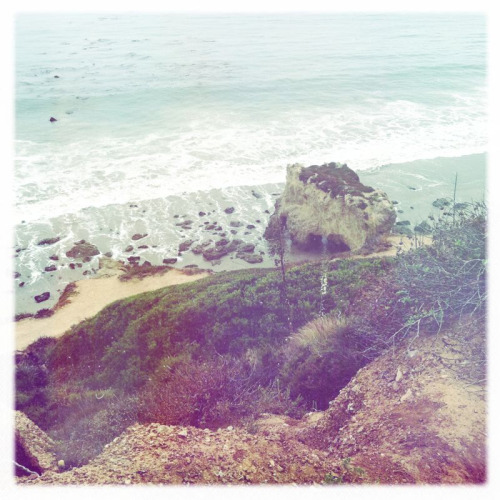 Location scouting in Malibu today for my shoot.