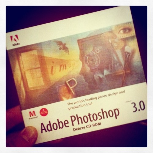 Photoshop 3 box (Taken with instagram)